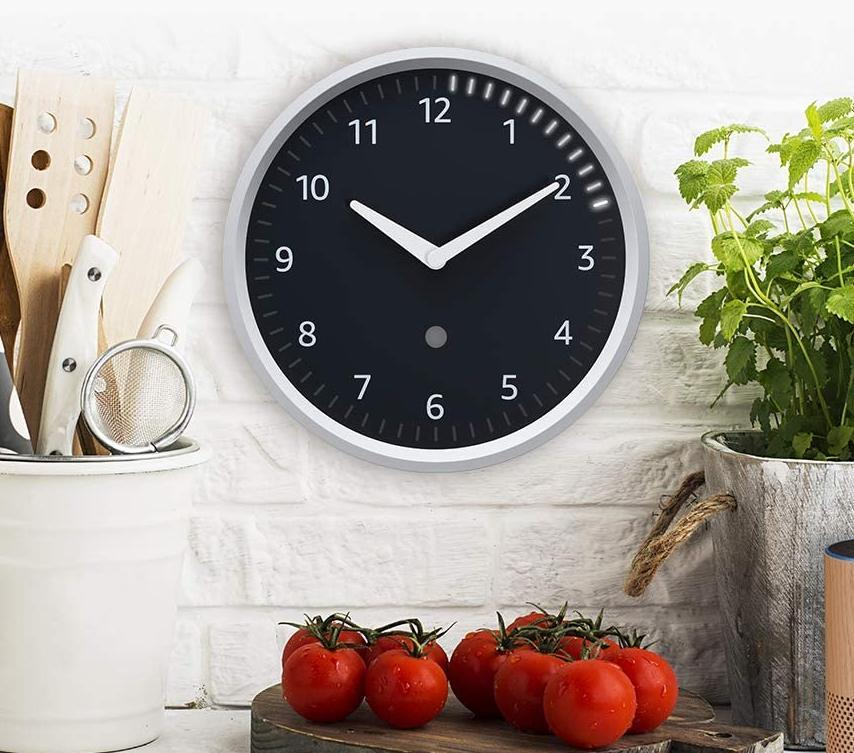 Get the Echo Wall Clock for 10 percent off. (Photo: Amazon)