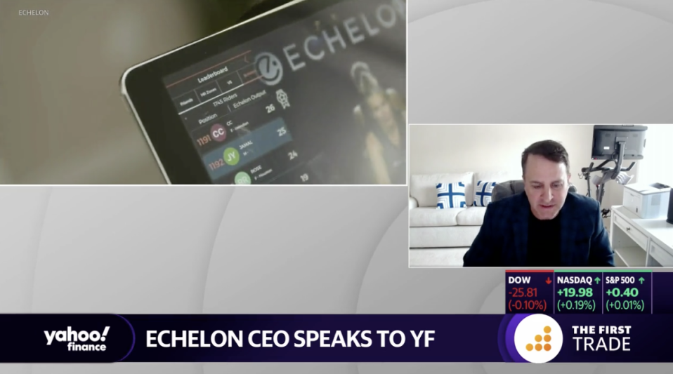 "Echelon CEO Lou Lentine talked to Yahoo Finance about its ""Prime"" bike dispute with Amazon."