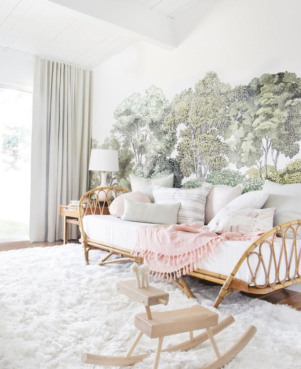 "<p>In this bedroom designed by <a href=""https://stylebyemilyhenderson.com/"" rel=""nofollow noopener"" target=""_blank"" data-ylk=""slk:Emily Henderson"" class=""link rapid-noclick-resp"">Emily Henderson</a>, a daybed is the perfect solution for seating and a place for Mom and Dad to nap. Try one in your own master for a luxurious update.</p>"