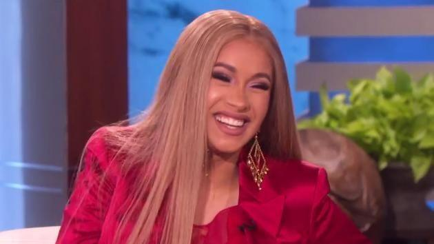 Cardi B reveals the hilarious reason she was really twerking at Coachella. Source: Ellen