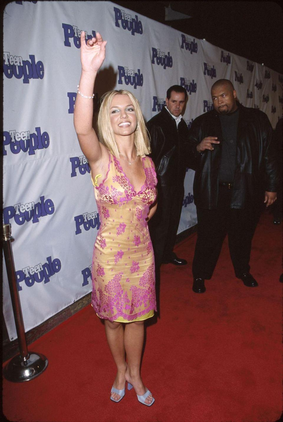 <p>Britney Spears celebrates the 2nd anniversary of Teen People.</p>