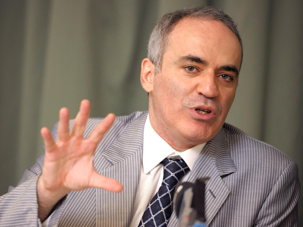 Former chess world champion Garry Kasparov said he's concerned that Americans are allowing Trump to turn the U.S. into Russia. (Photo: STR New / Reuters)