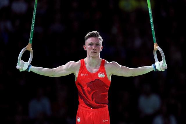 """Olympian Nile Wilson has claimed gymnasts are treated like """"pieces of meat"""" (Mike Egerton/PA)"""
