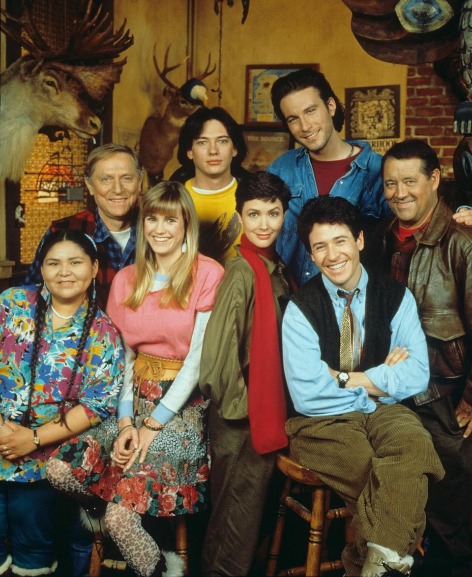 The cast of Northern Exposure, which ran from 1990 to 1995 on CBS