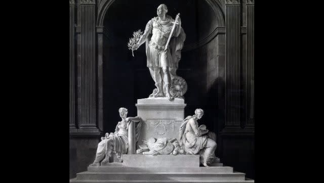 The first colonial statue in Kolkata was that of Lord Cornwallis who served as Governor-General from 17. Wikimedia Commons