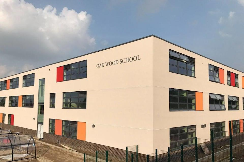 Pupils missed out on months of face-to-face teaching and more than a year of mixing with friends in the playground (Oak Wood School)