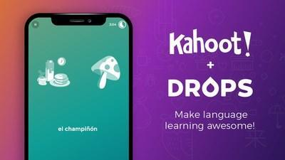 Kahoot! acquires Drops to make language learning more awesome!