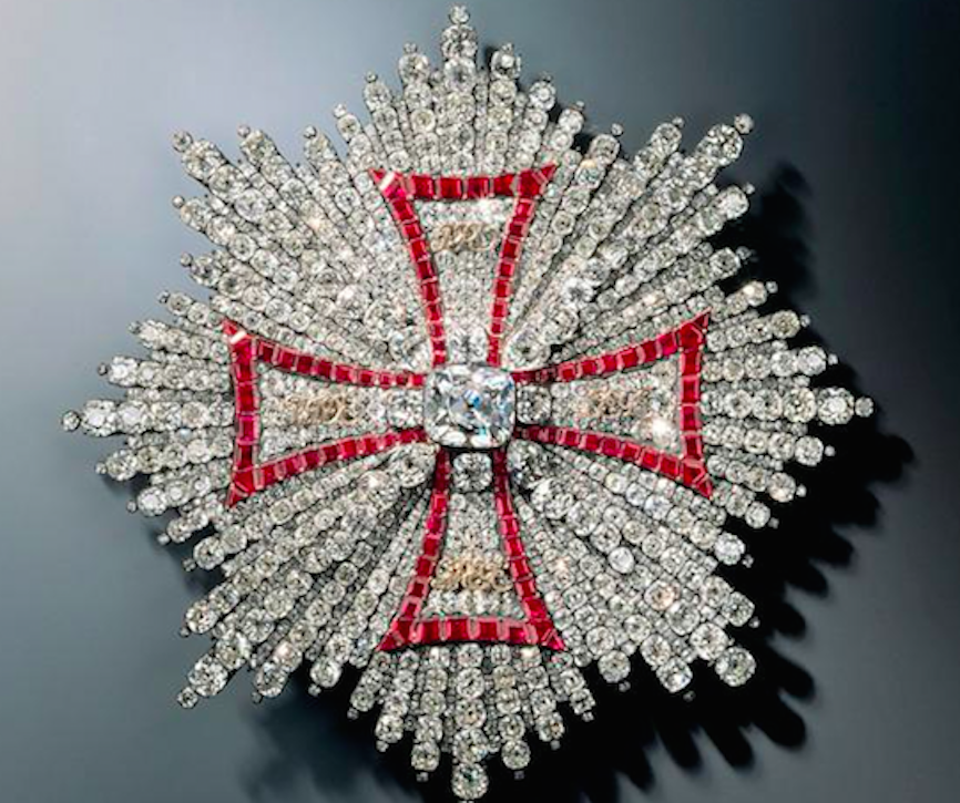 The breast star of the Polish Order of the White Eagle was stolen (Picture: Reuters)