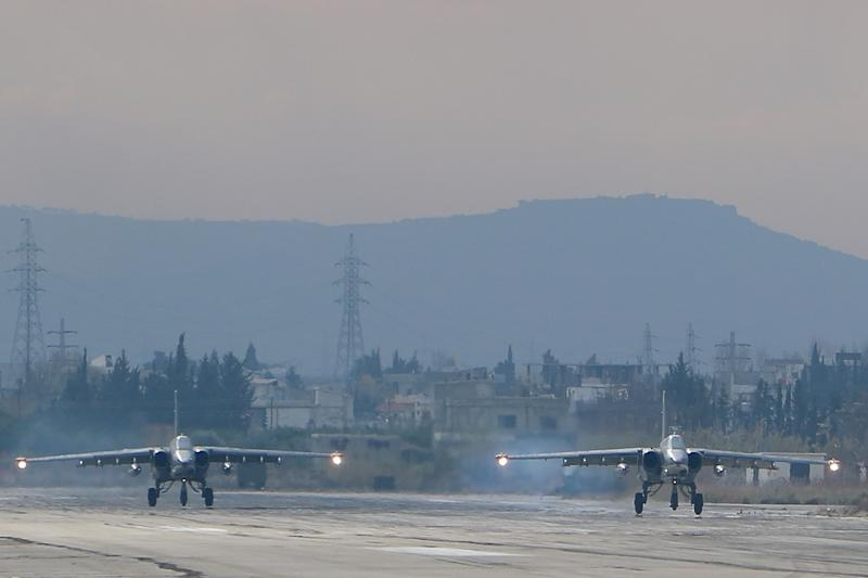 Russia began its air war in Syria on September 30, conducting air strikes against a range of anti-regime armed groups including US-backed rebels and jihadist groups