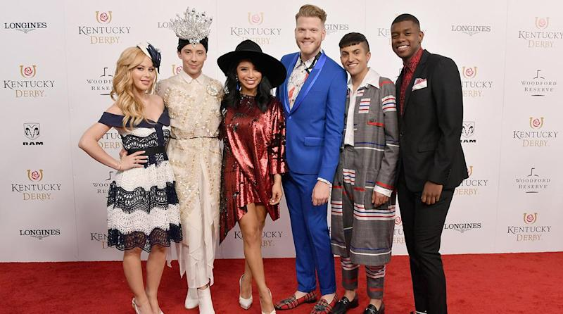 Celebrities at the 2018 Kentucky Derby