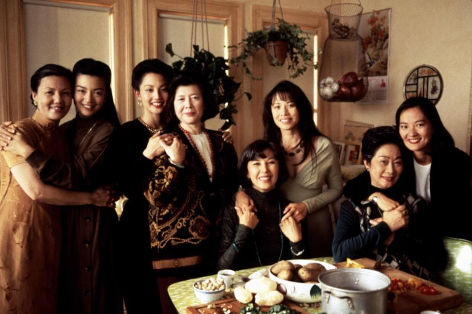 "<p>This film adaptation of Amy Tan's best-selling novel tells the stories, past and present, of four women who have immigrated to the United States from China and started a mah-jongg club. It's a moving study of the complex, deep bond women have with their daughters that must be seen.</p> <p><em>Available to rent on</em> <a href=""https://www.amazon.com/Joy-Luck-Club-Lisa-Lu/dp/B003SI605K"" rel=""nofollow noopener"" target=""_blank"" data-ylk=""slk:Amazon Prime Video"" class=""link rapid-noclick-resp""><em>Amazon Prime Video</em></a><em>.</em></p>"