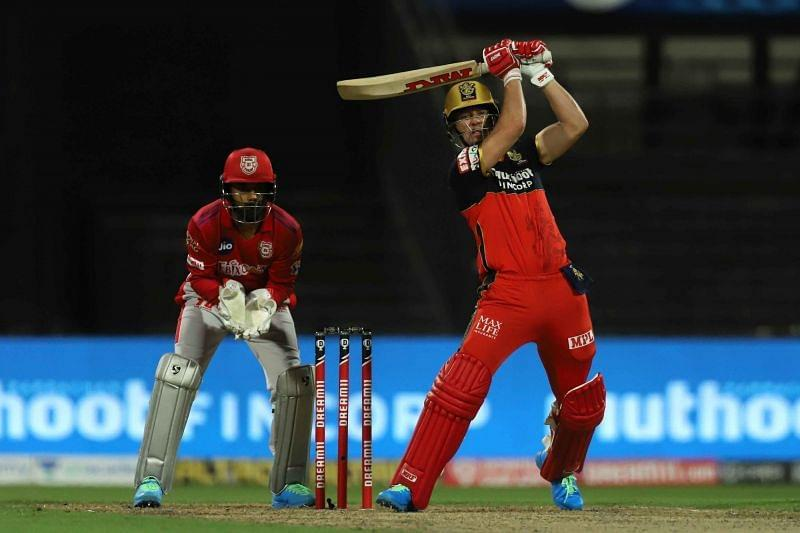 AB de Villiers came into bat only in the 17th over of the RCB innings [P/C: iplt20.com]