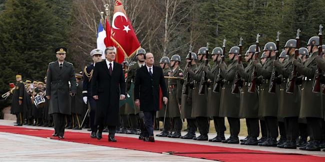 Turkish Military Honor Guard