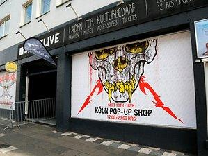 Metal-Merchandise: Metallica Pop-Up-Store öffnet in der Neustadt