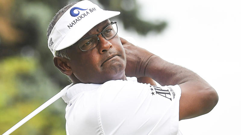 Three-time PGA champion Vijay Singh is pictured.