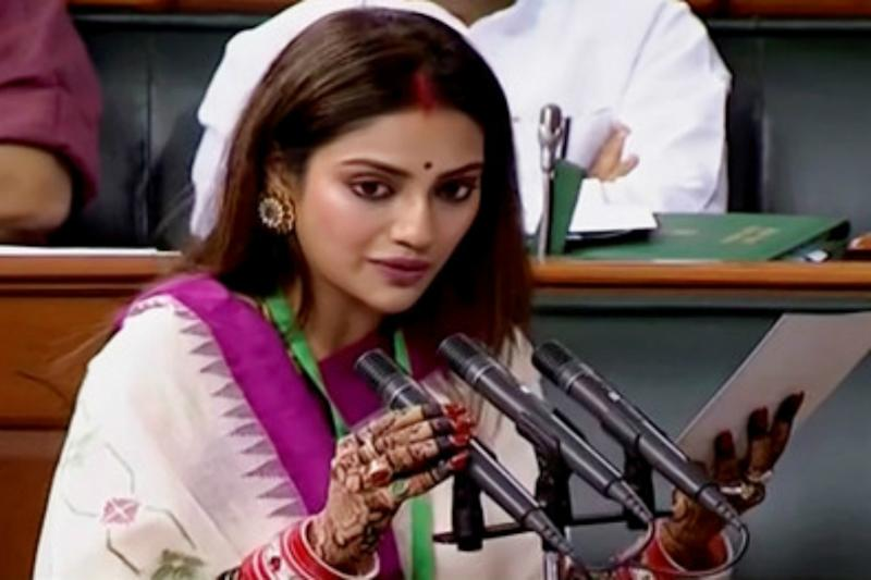 TMC MP Nusrat Jahan to Be Special Guest at ISKCON Kolkata's Rathyatra
