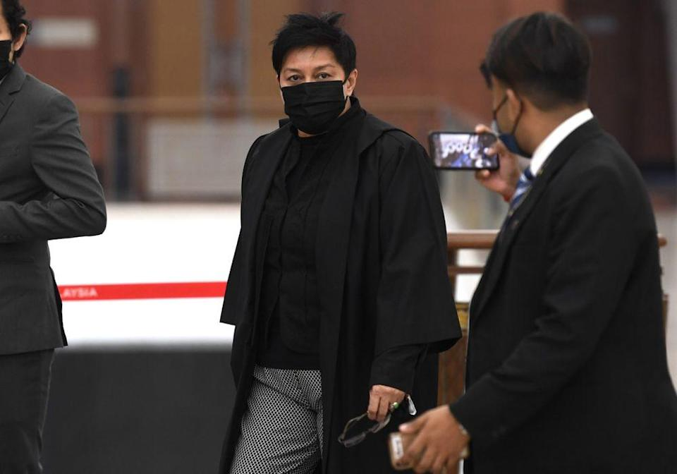 Datuk Seri Azalina Othman Said said that dealing with the powers of the AG is a big challenge because the AG advises the largest institution in the constitution — the judiciary, legislative and executive. — Bernama pic