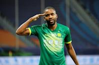 Beijing Guoan's Cedric Bakambu was the Chinese Super League's top scorer last season