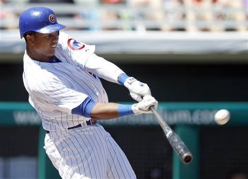 Starlin Castro homers as Cubs beat Brewers 5-3
