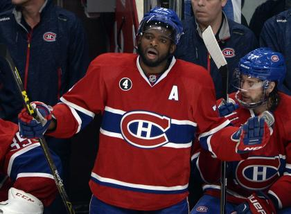 Subban felt he let his teammates down with an ejection in Game 1 and wanted to make amends. (AP)