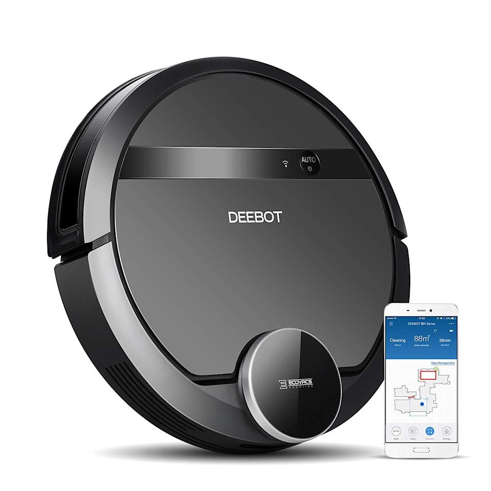 """<p>We're pretty sure the people on your list who hate doing chores greatly outweigh the people who actually like cleaning. In that case, the Ecovacs Deebot N79S is here to make their lifes much easier. Unlike most robotic vacuums, this particular model utilizes mapping technology to follow an optimized path and avoid obstacles. It also has app controls, voice-activation capabilities, and works on any type of floor. Thanks to this very intelligent device, they might even <em>look forward</em> to chore day.</p> <p><strong>$200</strong> (<a href=""""https://www.amazon.com/ECOVACS-N79S-Connectivity-Controls-Self-Charging/dp/B077HW9XM7"""" rel=""""nofollow noopener"""" target=""""_blank"""" data-ylk=""""slk:Shop Now"""" class=""""link rapid-noclick-resp"""">Shop Now</a>)</p>"""