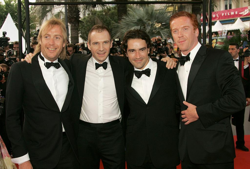 "<a href=""http://movies.yahoo.com/movie/contributor/1800018838"">Rhys Ifans</a>, <a href=""http://movies.yahoo.com/movie/contributor/1800019488"">Ralph Fiennes</a>, <a href=""http://movies.yahoo.com/movie/contributor/1800051577"">Ben Chapman</a> and <a href=""http://movies.yahoo.com/movie/contributor/1804538650"">Damian Lewis</a> at the 58th Annual Cannes Film Festival premiere of <a href=""http://movies.yahoo.com/movie/1808680278/info"">Chromophobia</a> - 05/21/2005"