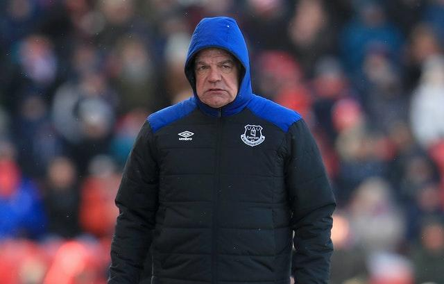 Allardyce reversed his decision to retire from manager by joining Everton in 2017, but fans did not take to his style of play