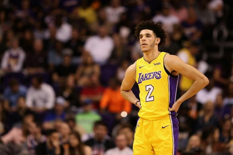 Los Angeles Lakers guard Lonzo Ball managed his second career triple double with 11 points, 11 assists and an NBA rookie season-best 16 rebounds against Denver