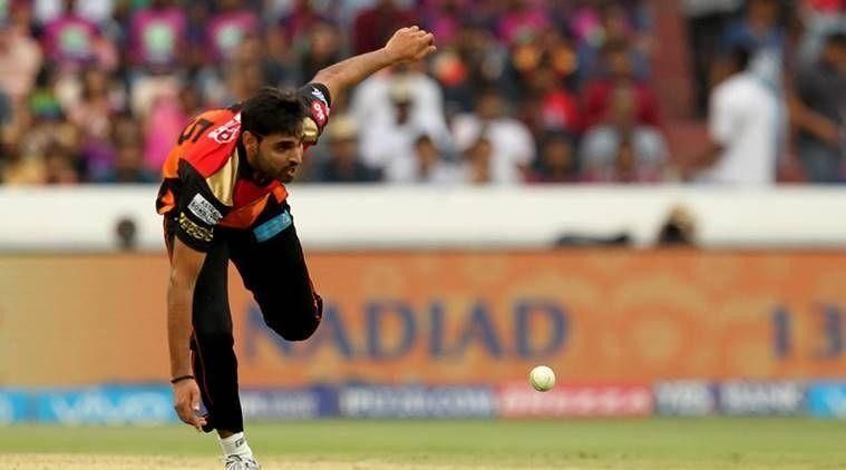 Bhuvi suffered a lower-back injury in IPL 2018