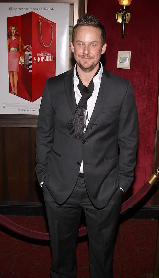 """<a href=""""http://movies.yahoo.com/movie/contributor/1808812564"""">Stephen Guarino</a> at the New York premiere of <a href=""""http://movies.yahoo.com/movie/1809973783/info"""">Confessions of a Shopaholic</a> - 02/05/2009"""