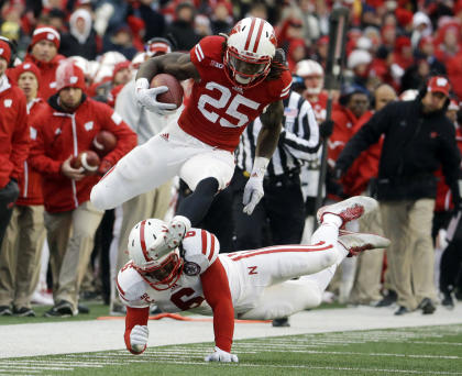 Melvin Gordon and Wisconsin's performance in the Big Ten title game may have hurt him in the Heisman race. (AP)