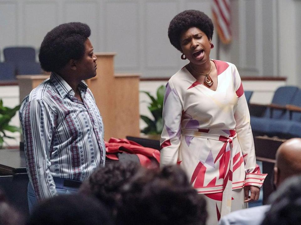 'Respect' offers plenty of opportunity for that powerful, celestial voice of Jennifer Hudson's to shine (Universal Pictures)