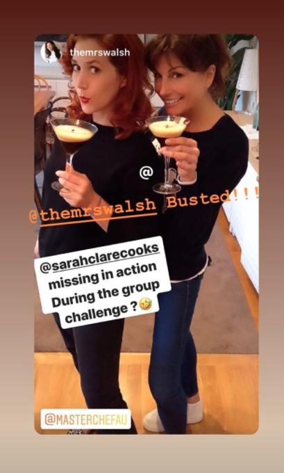 Sarah Clare and Michelle Walsh from 2018 series of MasterChef