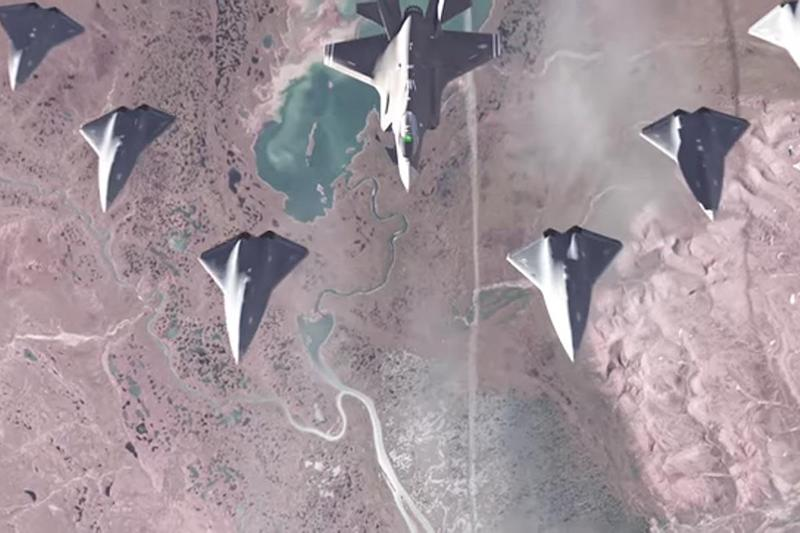 Air Force Will Pit a Drone Against a Fighter Jet in Aerial Combat Test
