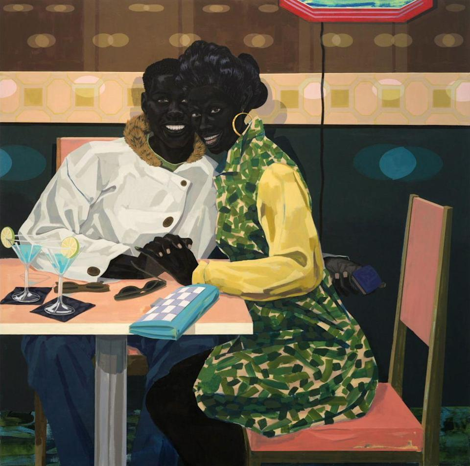 Photo credit: 'Untitled, (Club Couple)', Kerry James Marshall, 2014 - HBO
