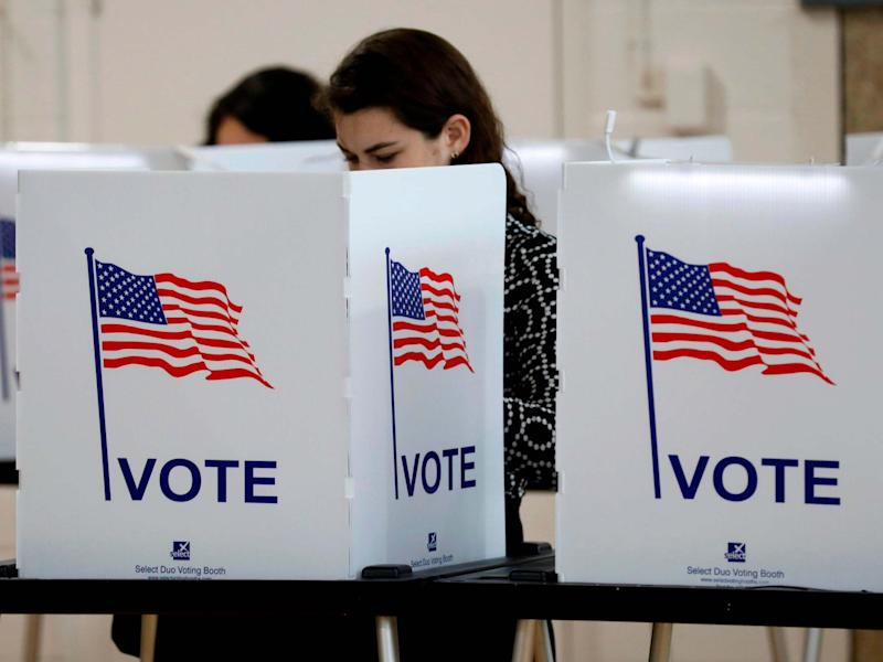 The US president blocked some provisions for states to prepare for the 2020 election during the pandemic: AFP via Getty Images