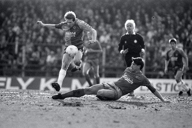 Defender Lawrie Sanchez scored the goal which helped Wimbledon win the FA Cup final against Liverpool at Wembley in 1988 - and also made plenty of key interventions at the other end of the pitch