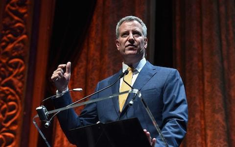 De Blasio - Credit: Getty