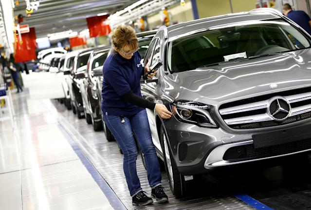 <p>Brand value: $47.83 billion<br>Change over previous year: +10%<br>Best-selling model: C-Class<br><br>(REUTERS/Kai Pfaffenbach/File Photo) </p>