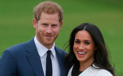 Prince Harry and Meghan Markle will wed on May 19 - Credit: DANIEL LEAL-OLIVAS/AFP