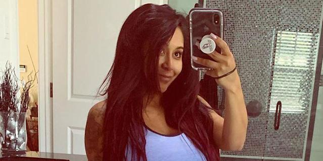 Jersey Shore's 'Snooki' Just Shared A Postpartum Selfie And