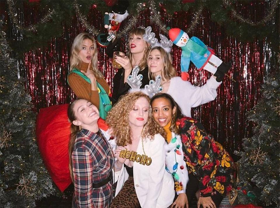 Taylor Swift, Gigi Hadid, Martha Hunt, 30th Birthday, Party, Instagram