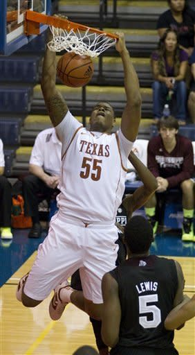 Texas beats Mississippi State 69-55 in Maui