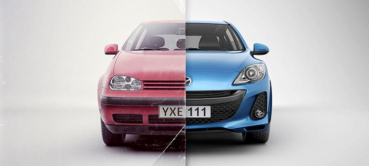 MM Brand New vs. Used Cars