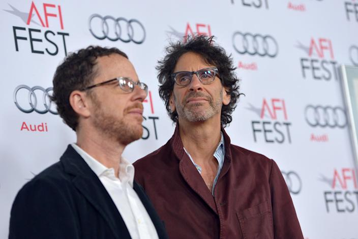 Directors Ethan Coen (L) and Joel Coen, seen here on November 14, 2013, will preside over the 2015 Cannes jury in May (AFP Photo/Charley Gallay)