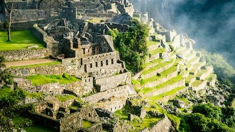 The lost city of the Incas - Credit: GETTY
