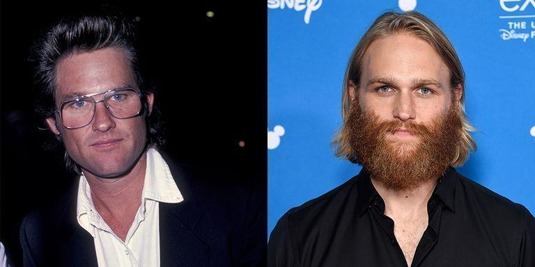<p>It's obvious that Goldie Hawn and Kurt Russell's family is insanely attractive, and the only biological son of the <em>Overboard </em>actor, Wyatt Russell, is a chip off the old block—other than the fact that Wyatt delayed his acting career when he was playing ice hockey.</p>