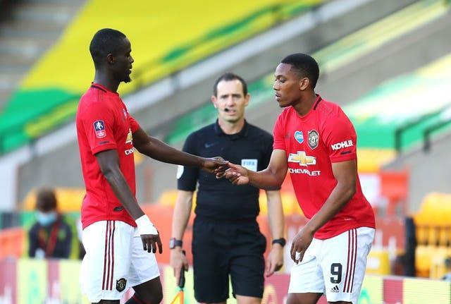 Eric Bailly and Anthony Martial are out of Thursday's game