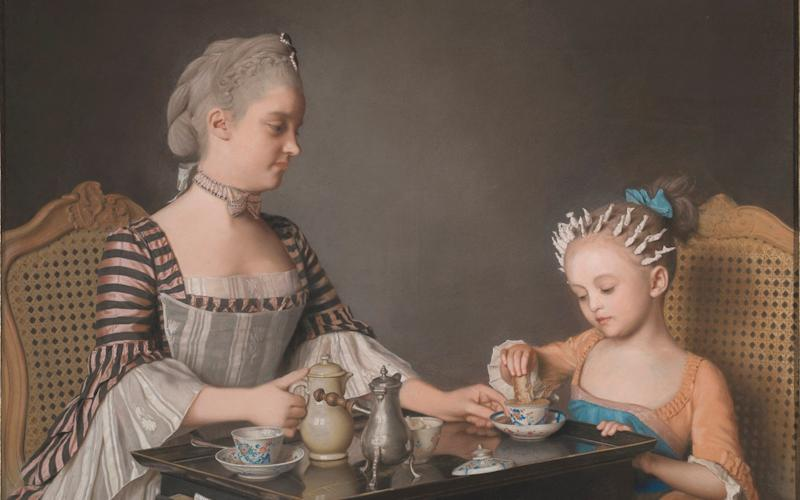 Liotard's The Lavergne Family Breakfast (1754) is among the new acquisitions - National Gallery