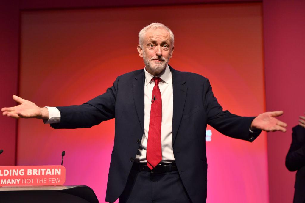 <p>Labour leader Jeremy Corbyn delivers his keynote speech at the Labour Party conference in Liverpool. [Picture: Anthony Devlin/Getty Images] </p>